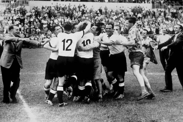 Сколько раз немецкая футбольная команда становилась чемпионами мира
