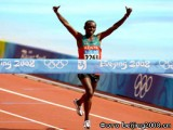 Кениец Вансиру выиграл марафон, установив олимпийский рекорд